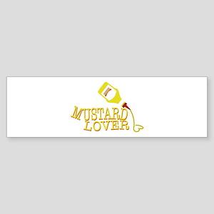 Mustard Lover Bumper Sticker