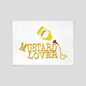 Mustard Lover 5'x7'Area Rug