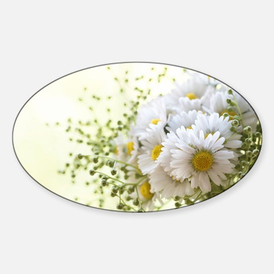 Bouquet of daisies in LOVE Decal