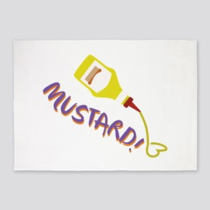 Mustard! 5'x7'Area Rug