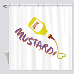 Mustard! Shower Curtain