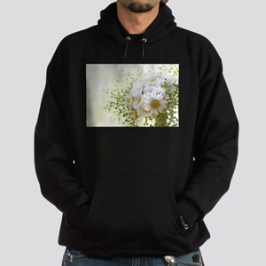 Bouquet of daisies in LOVE Hoodie (dark)
