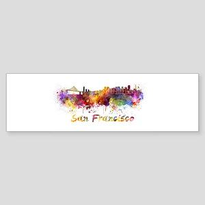 I Love San Francisco Bumper Sticker