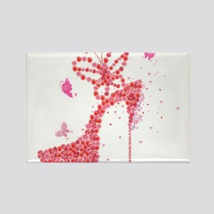 Roses high heel Magnets
