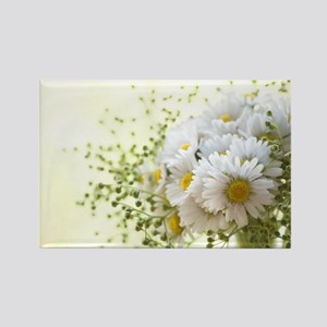 Bouquet of daisies in LOVE Magnets
