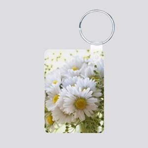Bouquet of daisies in LOVE Keychains
