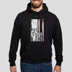 Billiards Flag Shirt Hoodie (dark)