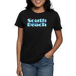 Women's South Beach SoFi Black T-Shirt