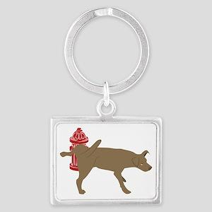 Peeing Dog Keychains