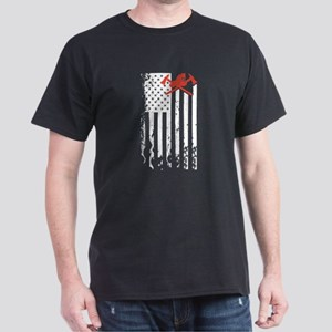 Firefighter Flag Shirt T-Shirt