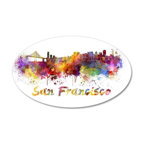 I Love San Francisco Wall Decal