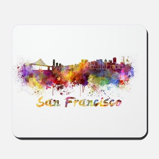 I Love San Francisco Mousepad