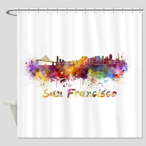 I Love San Francisco Shower Curtain