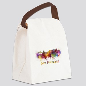 I Love San Francisco Canvas Lunch Bag