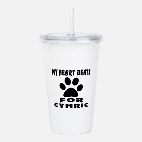My Heart Beats For Cym Acrylic Double-wall Tumbler