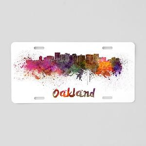 I Love Oakland Aluminum License Plate