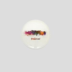I Love Oakland Mini Button