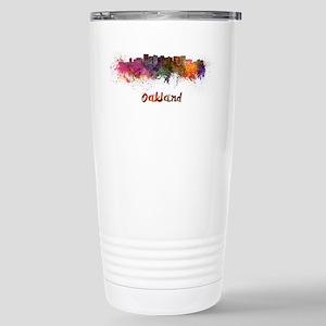 I Love Oakland Travel Mug