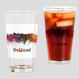 I Love Oakland Drinking Glass