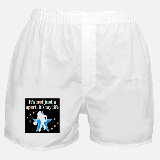 BASKETBALL GIRL Boxer Shorts