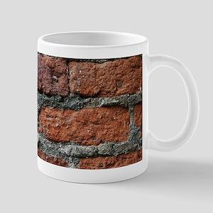 Old brick wall Mugs