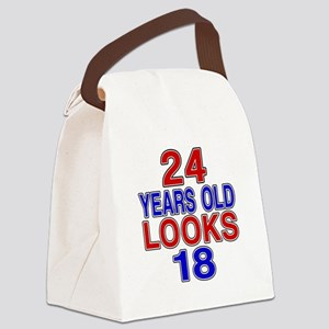24 Years Old Looks 18 Canvas Lunch Bag