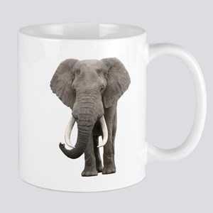 Realistic elephant design Mugs
