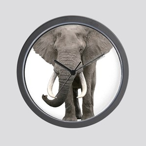 Realistic elephant design Wall Clock
