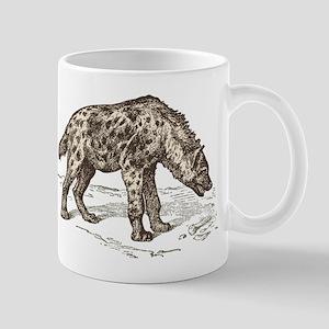Vintage hyena art Mugs
