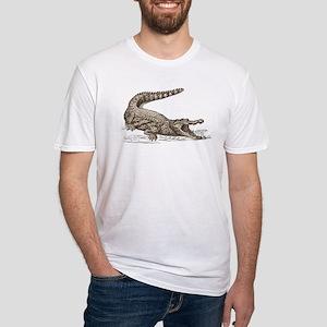 Hand painted animal crocodile T-Shirt