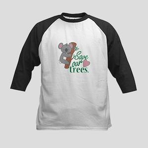 Save Trees Baseball Jersey