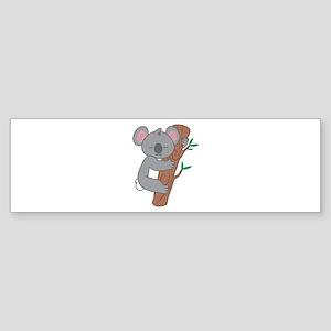 Sleepy Koala Bumper Sticker