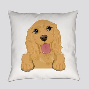 Brown dog Everyday Pillow