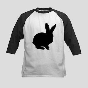 Rabbit Silhouette Baseball Jersey