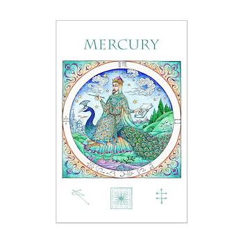 Mercury in Virgo 11 x 17 Mini Poster Print