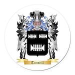 Tunstill Round Car Magnet