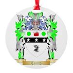 Tunno Round Ornament