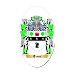 Tunno Oval Car Magnet