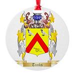 Tunks Round Ornament
