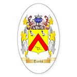 Tunks Sticker (Oval)