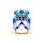 Tuminelli Sticker (Rectangle 50 pk)