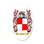Tuite Oval Car Magnet