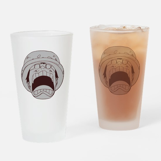Anime one piece Drinking Glass