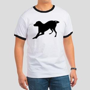 English foxhound dog silhouette T-Shirt