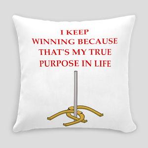horseshoes joke Everyday Pillow