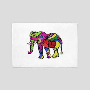 psychedelephant 4' x 6' Rug
