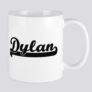 Dylan Classic Retro Name Design Mugs