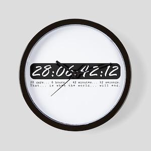 28:06:42:12 Wall Clock