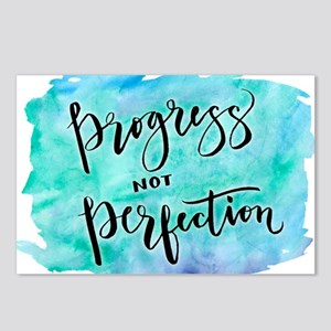 Progress not Perfection Postcards (Package of 8)