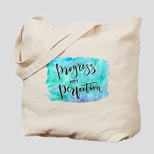 Progress not Perfection Tote Bag